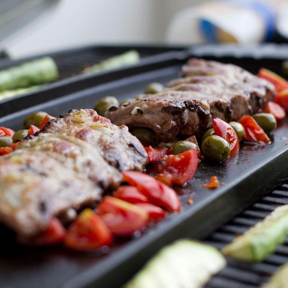BBQ Spareribs Salat